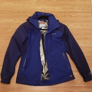 NWOT  Women's Blue Columbia Jacket
